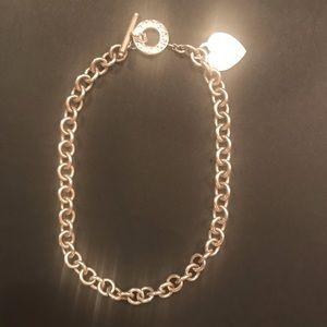 Tiffany toggle heart necklace.